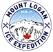 Mount Logan Round Logo White Small