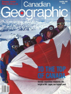 Cover of Canadian Geographic Sept/Oct 1992
